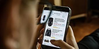 Amazon-App auf dem Smartphone