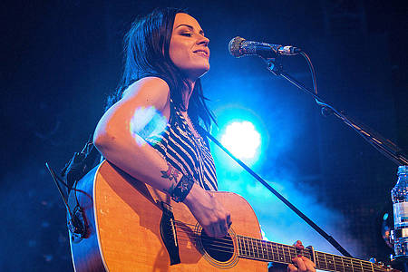 Amy Macdonald beim Family Day der Gerry Weber Open