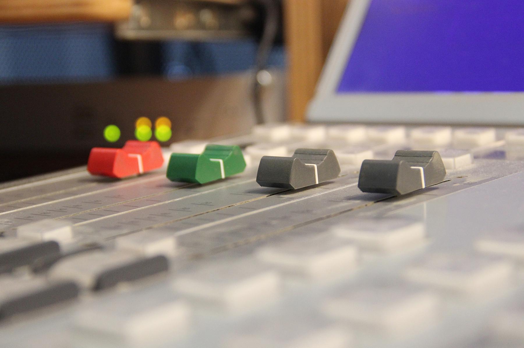 So sieht's bei uns im Studio aus