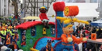 Karnevalswagen in Beckum