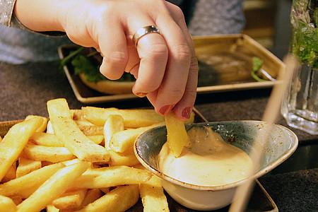 Pommes Mayo Fastfood