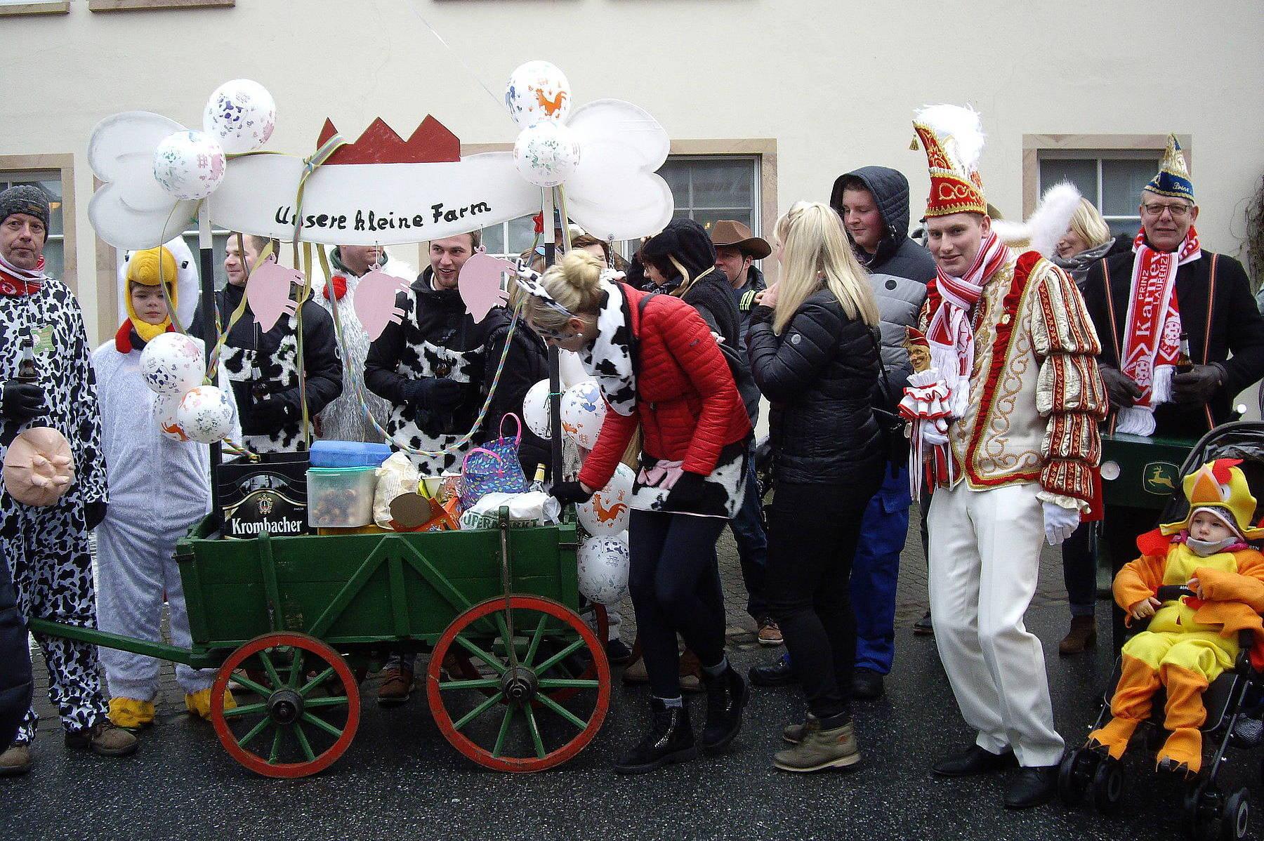 Karneval in Füchtorf