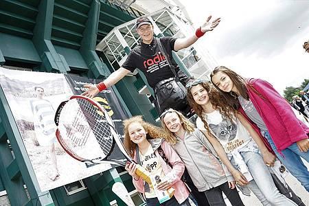 Besucherinnen bei den Gerry Weber Open