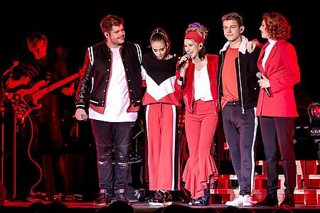 die Gewinner von The Voice of Germany auf der Konzertbühne