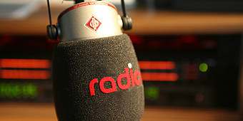 Mikrofon im Studio