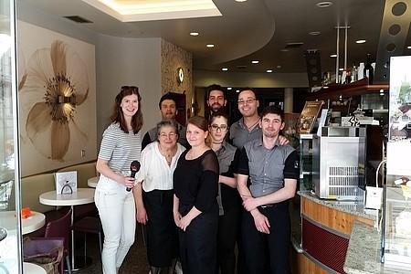Team der Eisdiele San Marco in Beckum