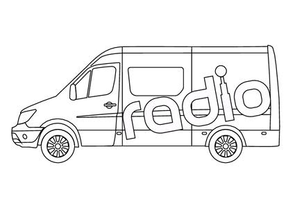 Unser Übertragungswagen
