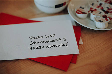 Brief an Radio WAF