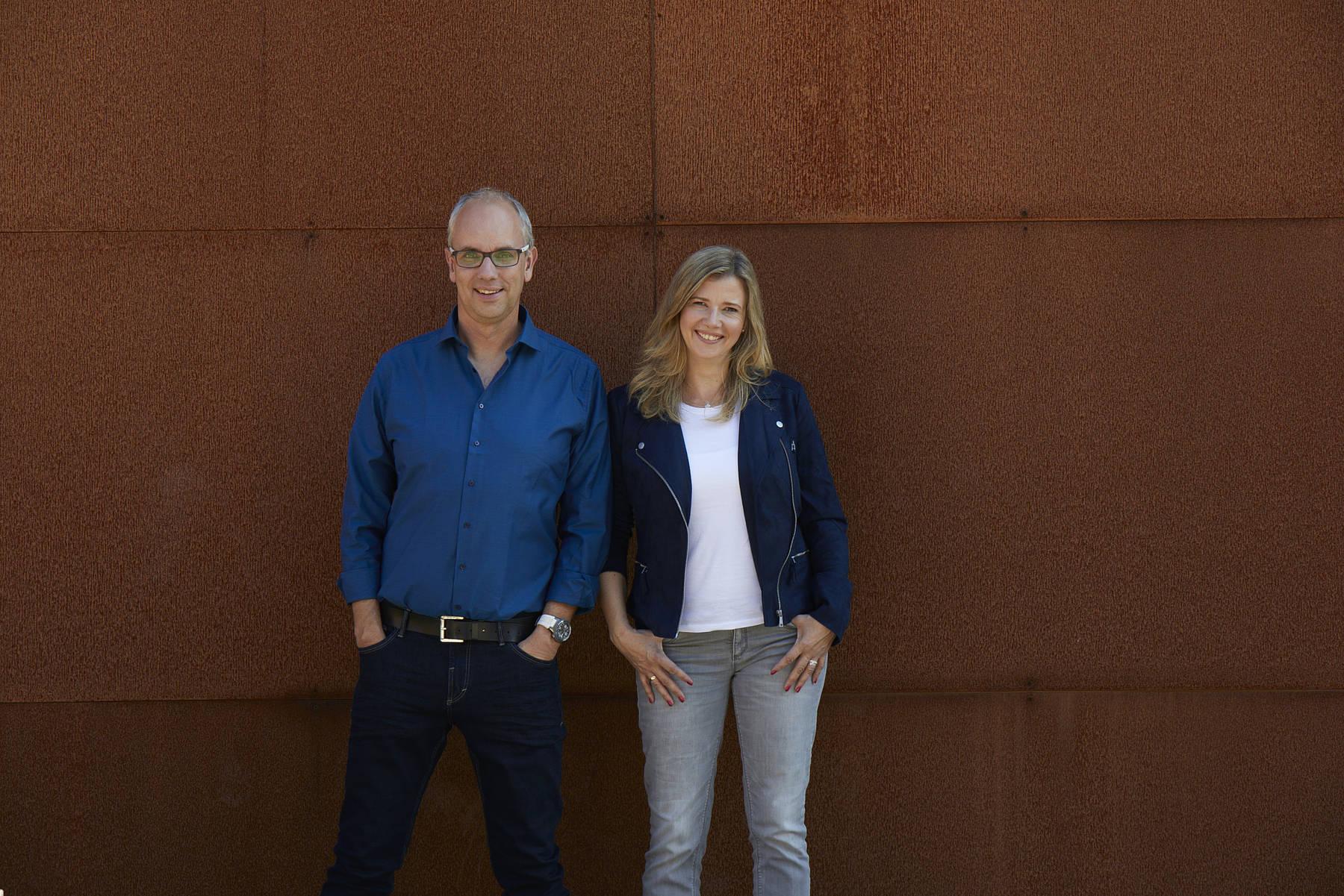 Ina Atig und Markus Bußmann
